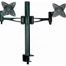 Astrotek Monitor Stand Desk Mount 36cm Arm for Dual Screens 13'-34' 10kg 30 tilt 180 swivel 360 rotate VESA 75x75 100x100 AT-LCDMOUNT-2H