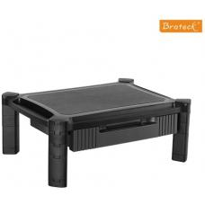 Brateck Height-Adjustable Modular Multi Purpose Smart Stand XL with Drawer for most 13''-32'' Weight Capacity 10kg AMS-2