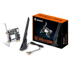 Gigabyte GC-WBAX200 WiFi 6 PCIe Adapter 2400Mbps 160MHz Dual Band Wireless + Bluetooth 5 MU-MIMO TX/RX GC-WBAX200