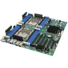 INTEL S2600STBR Server Motherboard, Dual 3647, C624, 16xDIMM, 2x10GbE, PCIe x16, SSI EEB S2600STBR