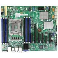 Supermicro Single Socket E5-2600/1600 v3/4, 8 x DDR4 DIMM, C612, 4 X USB 3.0 X10SRH-CLN4F