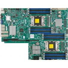 Supermicro X9DRW-7TPF Server Motherboard, Propietory WIO, Intel C602, Dual LGA 2011, E5-2600v2, 16x DDR3, 2x10GBe LAN X9DRW-7TPF