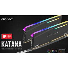 Antec Katana RGB 16GB (2x8GB) DDR4 3200MHz C16 16-18-18-38, PC4-25600, 1.35V Desktop Gaming Memory AM4U32168G11-7DKR