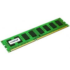 Crucial 8GB (1x8GB) DDR3L UDIMM 1600MHz CL11 1.35V Dual Ranked Single Stick Desktop PC Memory RAM CT102464BD160B