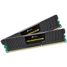 Corsair Vengeance Low Profile 16GB (2x8GB) DDR3 UDIMM 1600MHz C10 Desktop Gaming Memory Black CML16GX3M2A1600C10