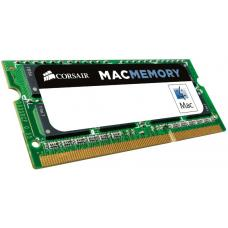 Corsair 8GB (1x8GB) DDR3 SODIMM 1333MHz 1.5V Memory for MAC Notebook Memory RAM CMSA8GX3M1A1333C9