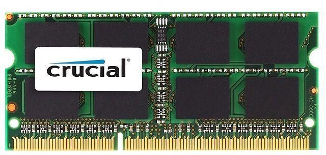 Crucial 16gb 1x16gb Ddr3l 1600mhz Sodimm 1 35 1 5v Ct204864bf160b