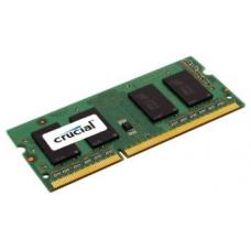 Crucial 4GB (1x4GB) DDR3 SODIMM 1600MHz 1.35V Single Stick Notebook Laptop Memory RAM CT51264BF160BJ