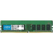 Crucial 16GB (1x16GB) DDR4 UDIMM 2666MHz ECC Unbuffered CL19 Single Stick Server Desktop PC Memory RAM CT16G4WFD8266