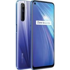 realme 6 Comet Blue- 6.5' fullscreen display, 64MP AI Quad camera, Helio G90T processor, 8GB RAM, 128GB ROM, 4300mAh Battery RMX2001 Blue