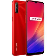 realme C3 Blazing Red - with 6.5' Display, 12MP AI Triple Camera, Helio G70 Processor, 3GB RAM, 64GB ROM, Nano Sim, 5000mAh battery. RMX2020 Red