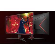AOC 23.8' 1ms IPS 75Hz Full HD Free-Sync, 1x VGA, 2x HDMI 1x DP, Narrow Border, Tilt Gaming Monitor 24G2E5
