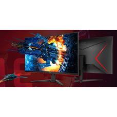 AOC 31.5' Curved 1ms 144Hz 2560x1440 FreeSync, HDR, Ultra Narrow Border, Gaming Monitor - DP/2xHDMI/VGA Tilt VESA100mm Low Blue Mode Flicker Free CQ32G2E