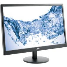 AOC 23.6' 1ms GTG Full HD Monitor - HDMI/DVI/VGA, Headphone out 3.5mm, Tilt, VESA100mm, 2x Integrated Speakers E2470SWH/75