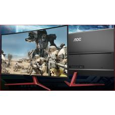 AOC 38.5' VA IPS-Type 4ms 144Hz Full HD FreeSync Curved eSport Gaming Monitor - DP1.2/2xHDMI1.4/VGA Speaker VESA100mm Tilt Low Blue Mode Flicker Free G3908VWXA/75
