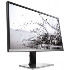 AOC 32' VA 4ms 4K 3840x2160 10bit Slim Monitor w/HAS - DP/HDMI2.0/VGA Speaker USB3.0 Hub/Charger VESA100mm Height Adjust U3277PWQU/75