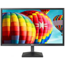 LG 23.8' IPS 5ms Full HD FreeSync Monitor - HDMI/VGA Tilt VESA75mm Black Stabilizer 24MK430H-B