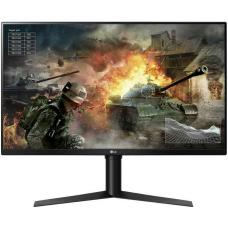 LG 31.5' VA IPS-Type 1ms 144Hz 2560x1440 FreeSync Borderless Gaming Monitor w/HAS PIVOT - 2HDMI/DP VESA100mm Height Adjustable 1ms 32GK650F-B