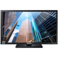 Samsung 23.8' / 24' E45 FHD Monitor 1920x1080 16:9 5ms 60Hz Height Adjust Tilt Swivel Pivot VESA D-Sub DVI DP Eye Saver Mode Flicker Free LS24E45KDSC/XY