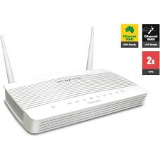 Draytek Vigor2133AC Wireless Gigabit Broadband Firewall Router 450Mbps AC1200 WiFi 3G/4G 2USB LTE with 4xGigabit LAN 2xVPN backup support VigorACS SI DV2133AC