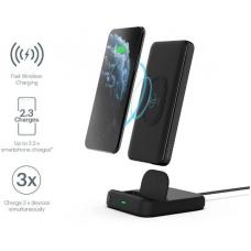 CYGNETT DUO 10K WIRELESS POWERBANK & CHARGING DOCK - BLACK - 18W FAST CHARGING FOR MOBILE DEVICES, Dual charging (USB-C and USB-A) CY3038PBCHE