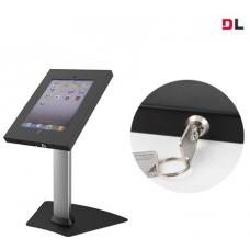 Brateck Anti-Theft Secure Enclosure Countertop Stand for iPad- Black with Adjustable Height Functio BT-PAD12-04AL