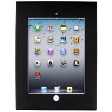 Brateck Wall Mount Anti-Theft Secure Enclosure for iPad 2, iPad 3, iPad 4, iPad Air&iPad Air 2-Black PAD12-01A