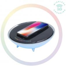 mbeat Wireless Charging Station with RGB Colour Lighting Charging Stand - Compatible with iPhone 8/8 PLUS/X/Galaxy S8 ACA-LED-U1