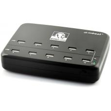 mbeat Gorilla Power 10 Port 60 W USB Charging Station CHGR-10U-BLK