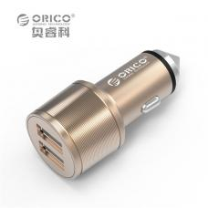 ORICO 15.5W 2 Port USB Car Charger with Safety Hammer ORICO UCI-2U