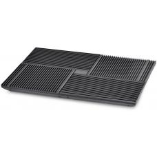 Deepcool Multi Core X8 Notebook Cooler 15.6' Max, 4x 100mm Fans, Pure Al Panel, 2x USB, Fan Control DP-N422-X8BK