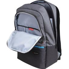 Promate Ascented-BP 15.6' Laptop Backpack With Multiple Pockets - Grey ASCEND-BP.GREY
