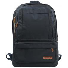 Promate Drake Premium Backpack for Laptops up to 15.6inch with Multiple Storage Options - Black DRAKE.BLACK