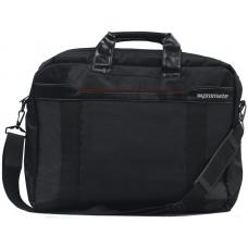 Promate 'Solo' Lightweight Messenger Bag with Front Storage Option for Laptops up to 15.6' SOLO-MB.BLACK