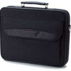 Toshiba 15.6' 16' Essential Notebook Laptop Bag Carry Case Black Colour Smooth Carry Handles Shoulder Strap Light Weight Durable PX1181E- 1NCA