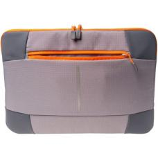 Targus 13-14 Bex II Laptop Sleeve - Grey with orange trim TSS87808AU