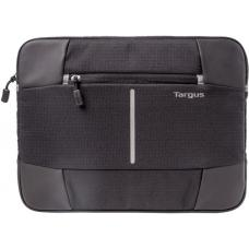 Targus 13-14'' Bex II Laptop Sleeve - Weather-resistant & rip-stop fabrication - Black with black trim TSS87810AU