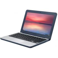 Asus C202 11.6' Chromebook Quad-Core RK3288C, 4GB DDR3, 16GB SSD, HD Graphics, Chrome OS, Blue C202SA-GJ0033