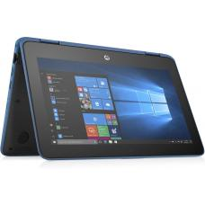 HP ProBook X360 11 G4 EE 11.6' HD TOUCH M3-8100Y 8GB 128GB SSD WIN10 PRO 3CELL 15hr World-Facing 1.44kg 1YR WTY Flip W10P Notebook BLUE (6ZT83PA) 6ZT83PA