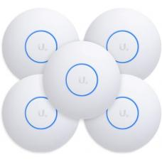 Ubiquiti UniFi Wave 2 Dual Band 802.11ac AP with Security & BLE 5 Pack UAP-AC-SHD-5