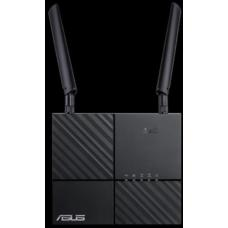 ASUS 4G-AC53U AC750 Dual-Band LTE Wi-Fi Modem Router, features 4G LTE Category 6 technology with SIM card slot 4G-AC53U