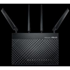 ASUS 4G-AC68U Wireless LTE Modem Router, AC1900, 3G/4Gsupport, 4G LTE and Gigabit Ethernet dual-WAN, MU-MIMO, Smart QoS, SIMU/USIM card support,  4G-AC68U