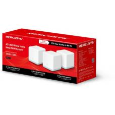 Mercusys Halo S12(3-pack) AC1200 Whole Home Mesh Wi-Fi 1167Mbps System, One Unified Network, Seamless Roaming, Coverage Up To 320sqm Halo S12(3-pack)