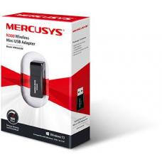 Mercusys MW300UM N300 Wireless Mini USB Adapter Fast 300Mbps, Connect your PC for HD Streaming, Gaming, Web Browsing, Portable, WPS Button, Windows MW300UM