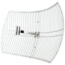 TP-Link TL-ANT2424B 2.4GHz 24dBi Directional Grid Parabolic Antenna, N Female connector, weather resistant high gain long coverage up to 56km TL-ANT2424B