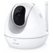 TP-Link NC450 WiFi Day/Night IP Cloud Camera 300Mbps Wireless 1MP 3.6mm Lens 75 View 30fps Pan Tilt Built-in Mic & Speaker Motion/Sound Detection iOS NC450