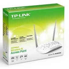 TP-Link TL-WA801ND N300 Wireless N Access Point 2.4GHz (300Mbps) 1x100Mbps LAN 802.11bgn 2*5dBi Detachable Omni Directional Passive PoE WPS button TL-WA801ND