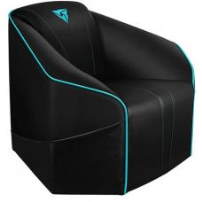 ThunderX3 US5 Consoles Couch - Black/Cyan US5-BC