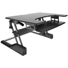 Brateck Height-Adjustable Sit and Stand Desk Z Lift Holds up to 15kg Stepless height settings 900mm width DWS04-01