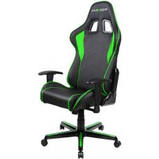 DXRacer Formula FL08 Gaming Chair Black & Green - Sparco Style Neck/Lumbar Support/NB Gaming/Office/Ergonomic Desk Chair/Black PU Leather OH/FL08/NE